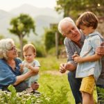 Grandparents often take care of kids while parents work