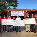 Charity Donation checks