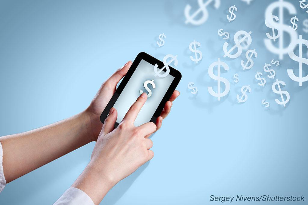 Money App Graphic