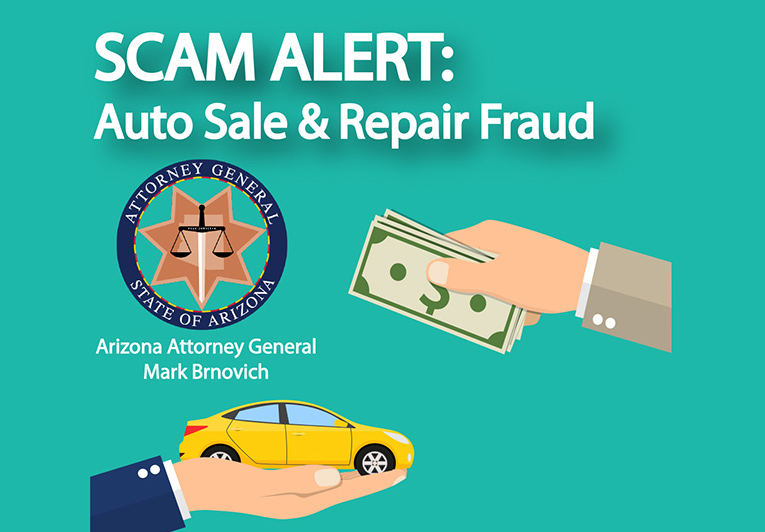 SCAM ALERT: AUTO SALE AND REPAIR FRAUD